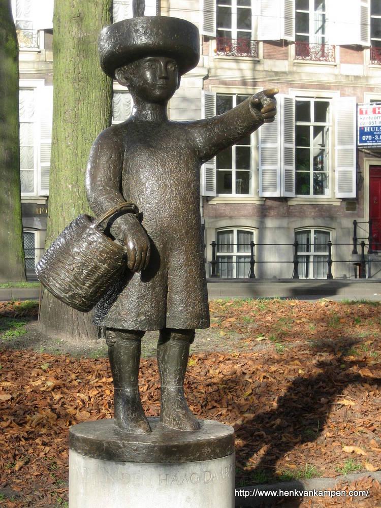 Standbeeld van Jantje, Den Haag