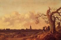 Gezicht op Den Haag