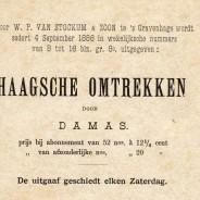 Haagsche omtrekken: Het Voorhout
