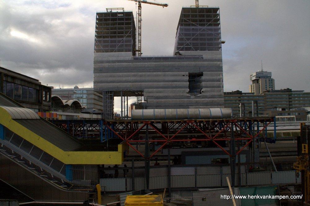 Verbouwing Utrecht CS en bouw Stadskantoor