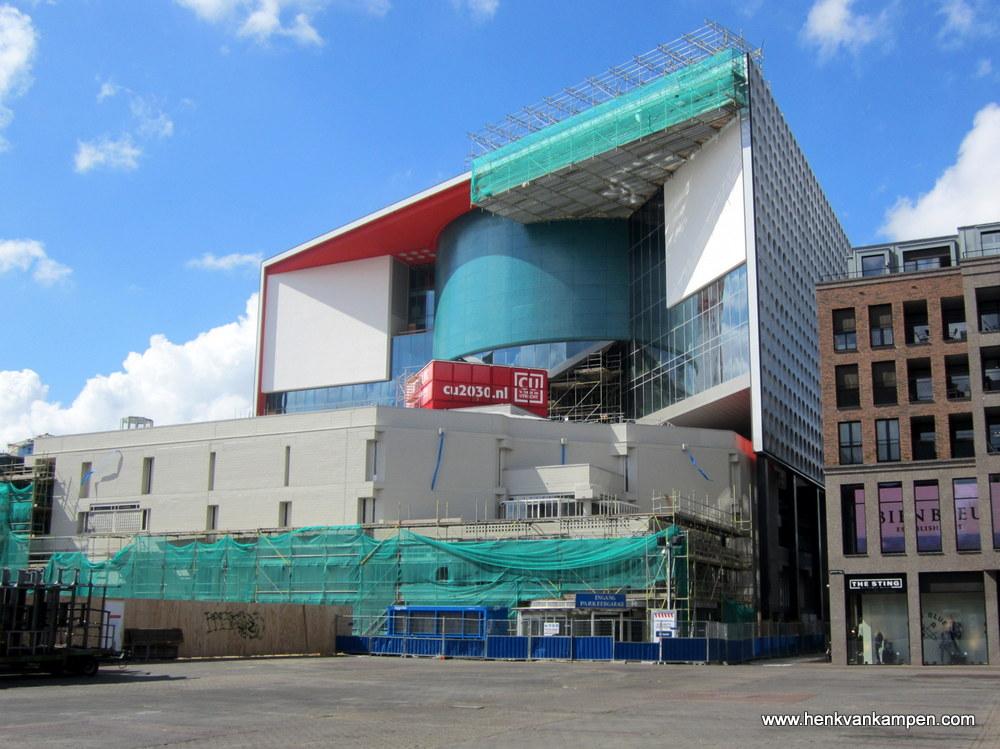 Het nieuwe muziekcentrum Vredenburg