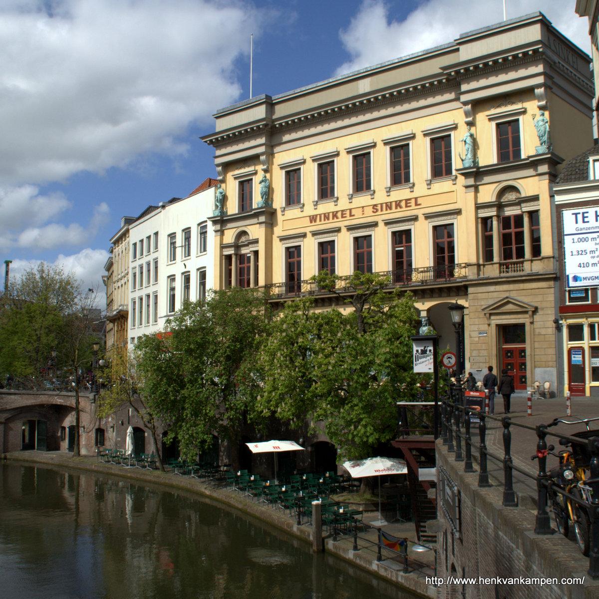 Winkel van Sinkel, Oude Gracht, Utrecht