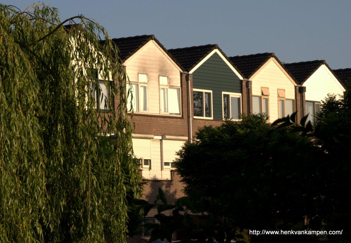 Huizen in de wijk Doorslag