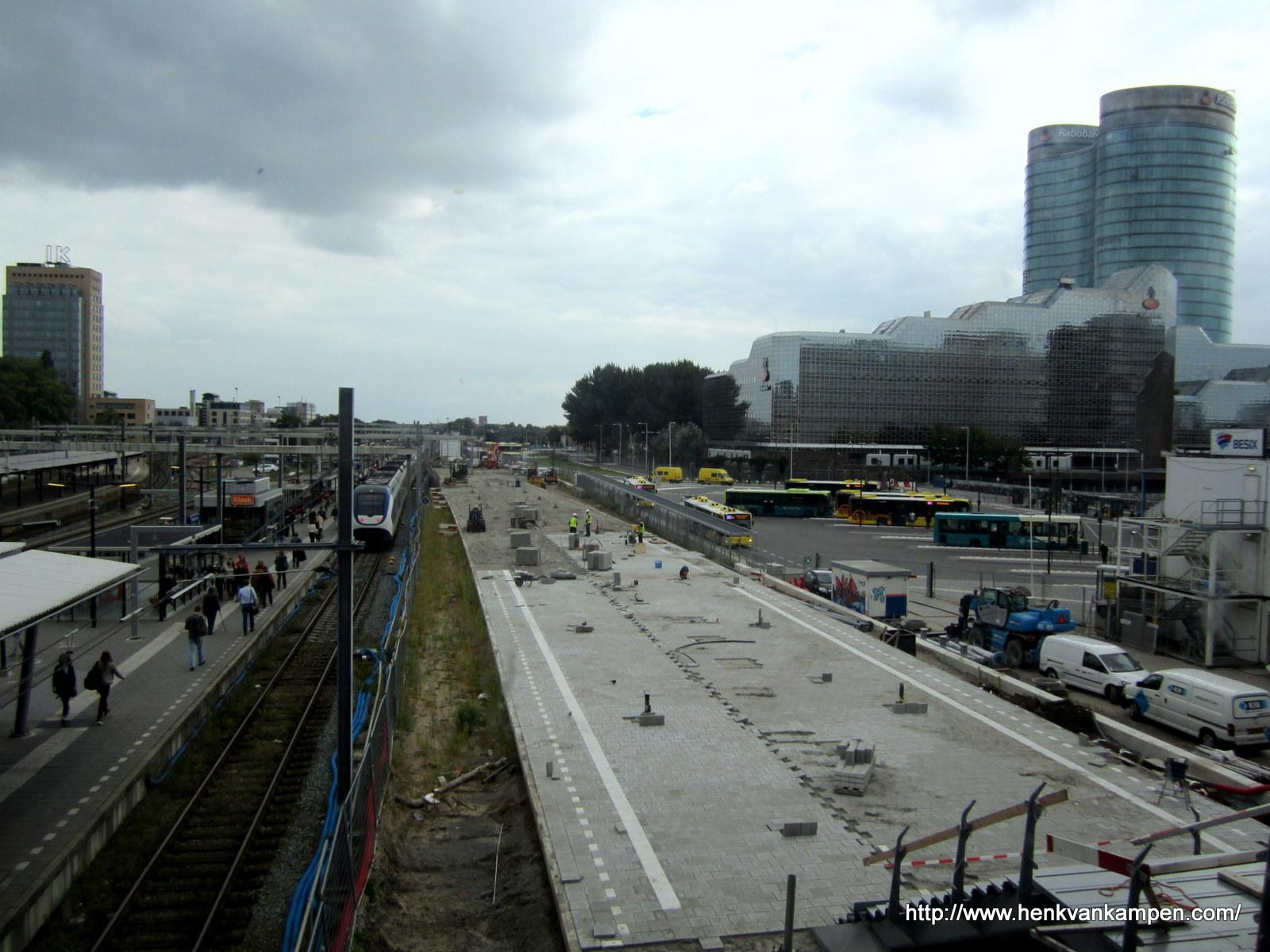 Werken aan Utrecht Centraal