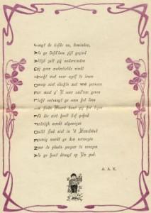 Jaagt de liefde na, door A.A. Koopman