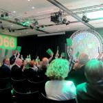 Stemmen op het #D66-congres