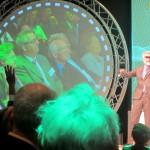 Erik Scherder op het D66-congres